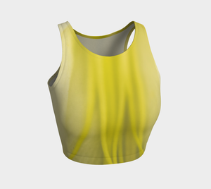Lily Lines Athletic Crop Top: Design 2