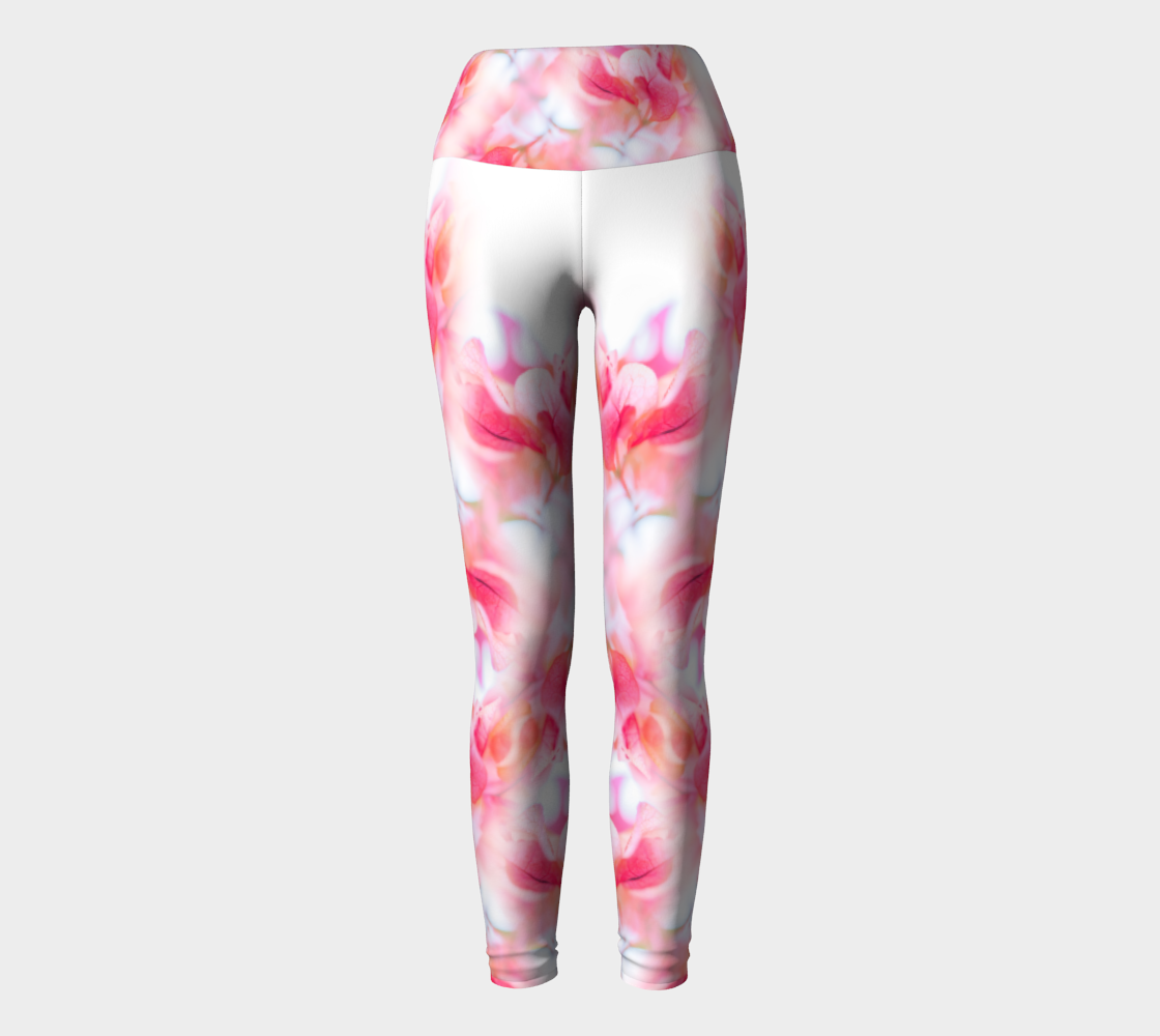 Magenta Harvest Yoga Leggings