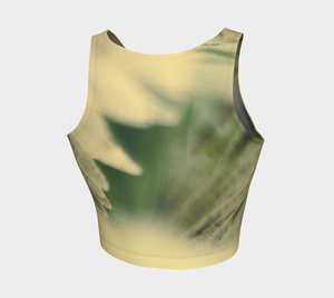 Fern Feathers: Athletic Crop Top