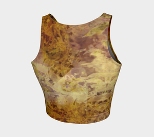 'Slow Burn': Athletic Crop Top