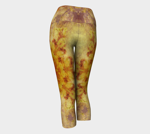 Slow Burn Yoga Capris: Design 1