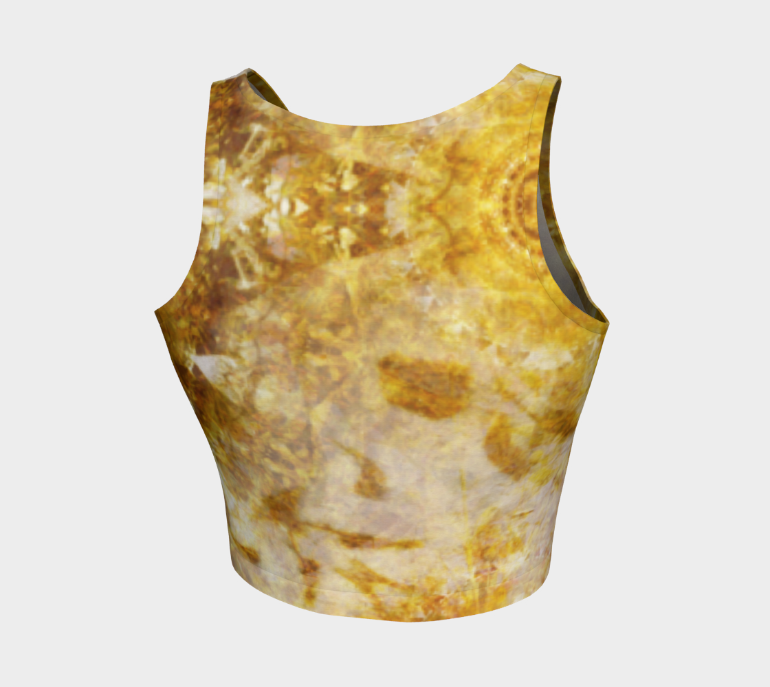 Royal Fire Athletic Crop Top (Asymmetric)