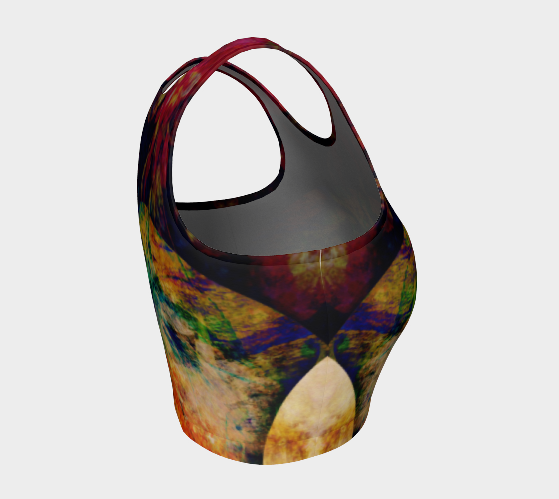 Anesidora Athletic Crop Top: Design 2