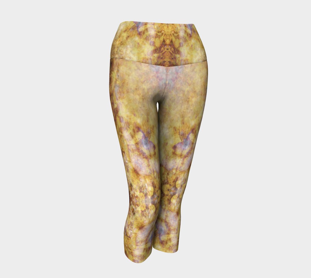 'Chandelier': Yoga Capris: Design 1