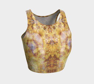 Phototapestry No. 59: Athletic Crop Top: Design 2