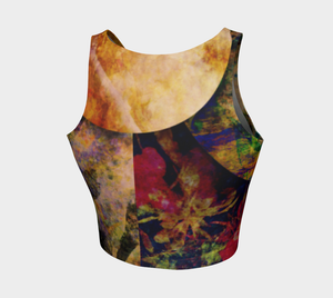 Anesidora Athletic Crop Top: Design 1
