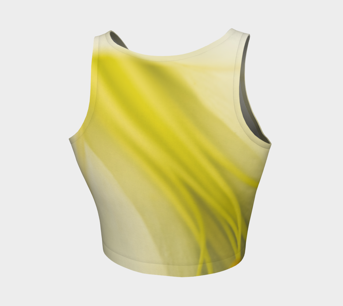 Lily Lines Athletic Crop Top: Design 1