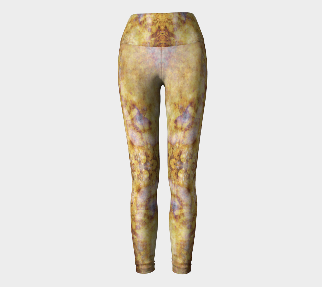 Phototapestry No. 59: Yoga Leggings: Design 1