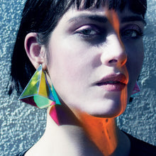 Load image into Gallery viewer, Pyramid earrings 3 /5