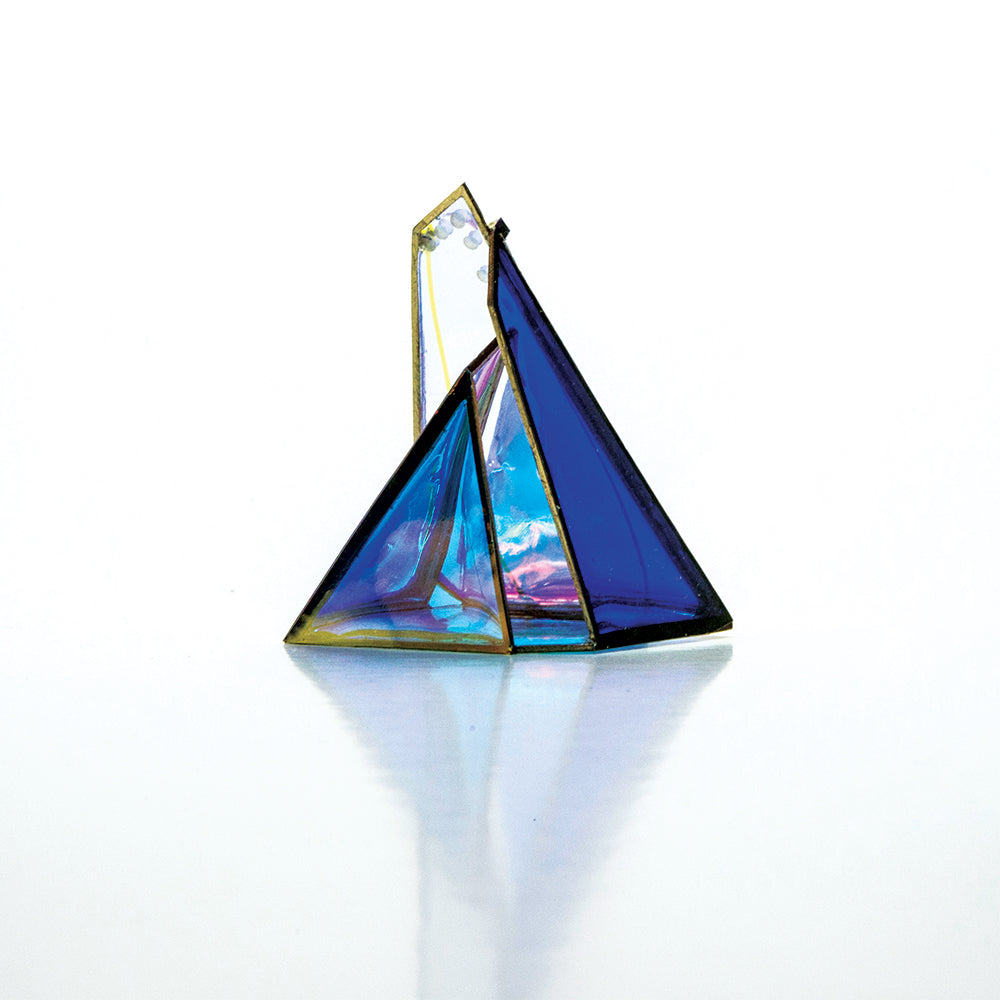Pyramid brooch 2/5_by order