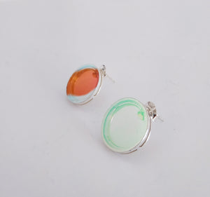 Circle earrings