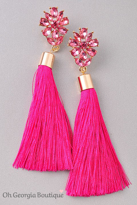 Now And Forever Tassel Earrings