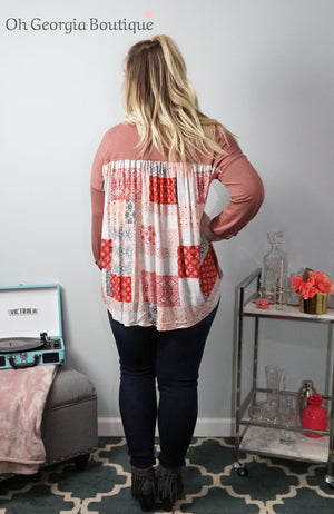Patchwork Perfection Top