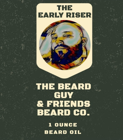 The Early Riser Beard Oil (1oz)