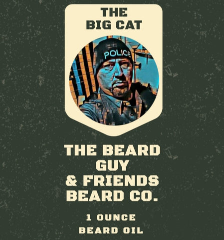 The Big Cat Beard Oil (1oz)