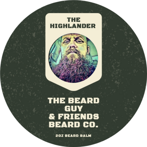 The Highlander Beard Balm (2oz)