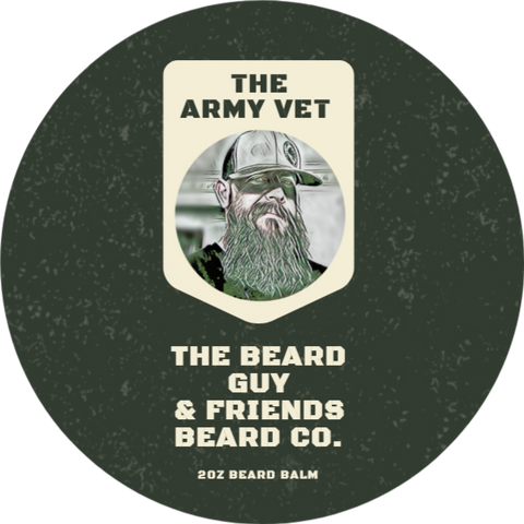 The Army Vet Beard Balm (2oz)