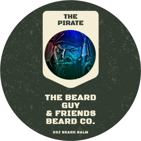 The Pirate Beard Balm (2oz)