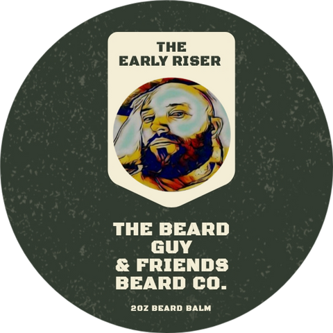The Early Riser Beard Balm (2oz)