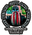 American Flag beard decal