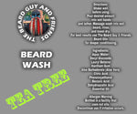 8oz Tea Tree Beard Wash