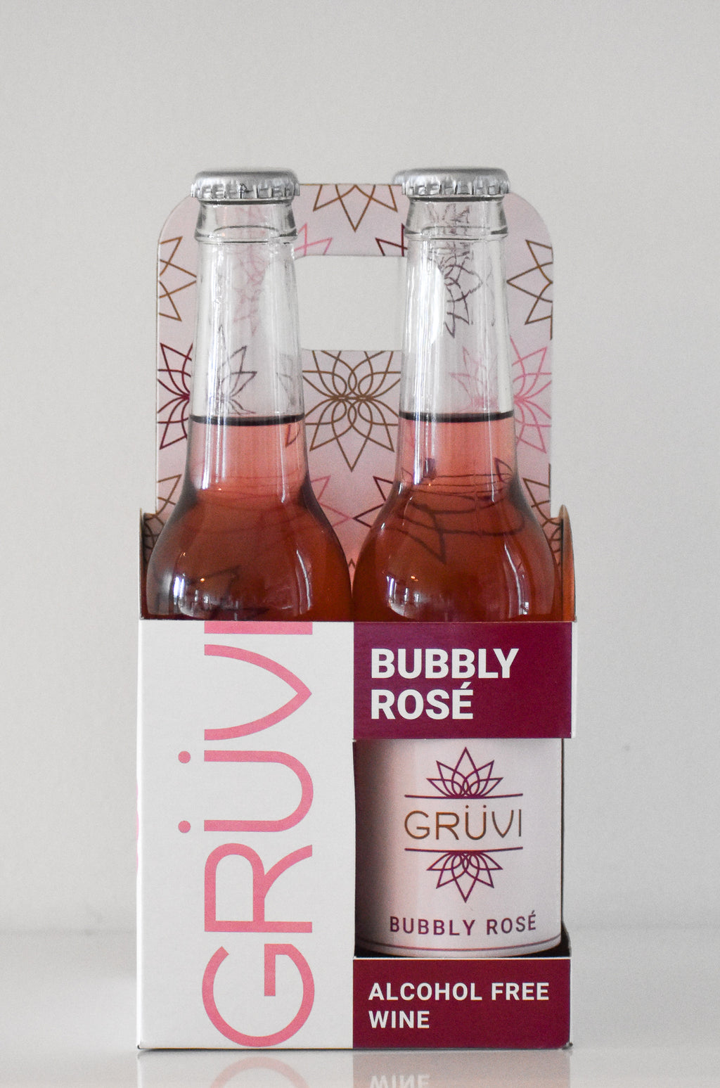 Gruvi Rosé-  Alcohol Free ROSE Bubbly
