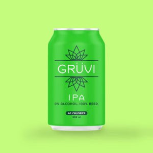 Gruvi IPA Alcohol Free Beer