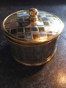 Gold and Silver Stash Box