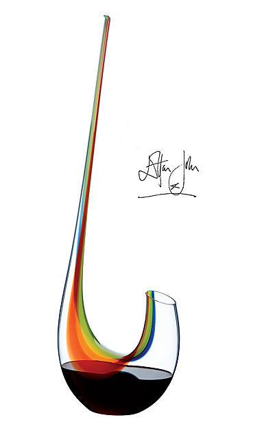 Riedel Swan Rainbow Magnum Decanter - Final Edition