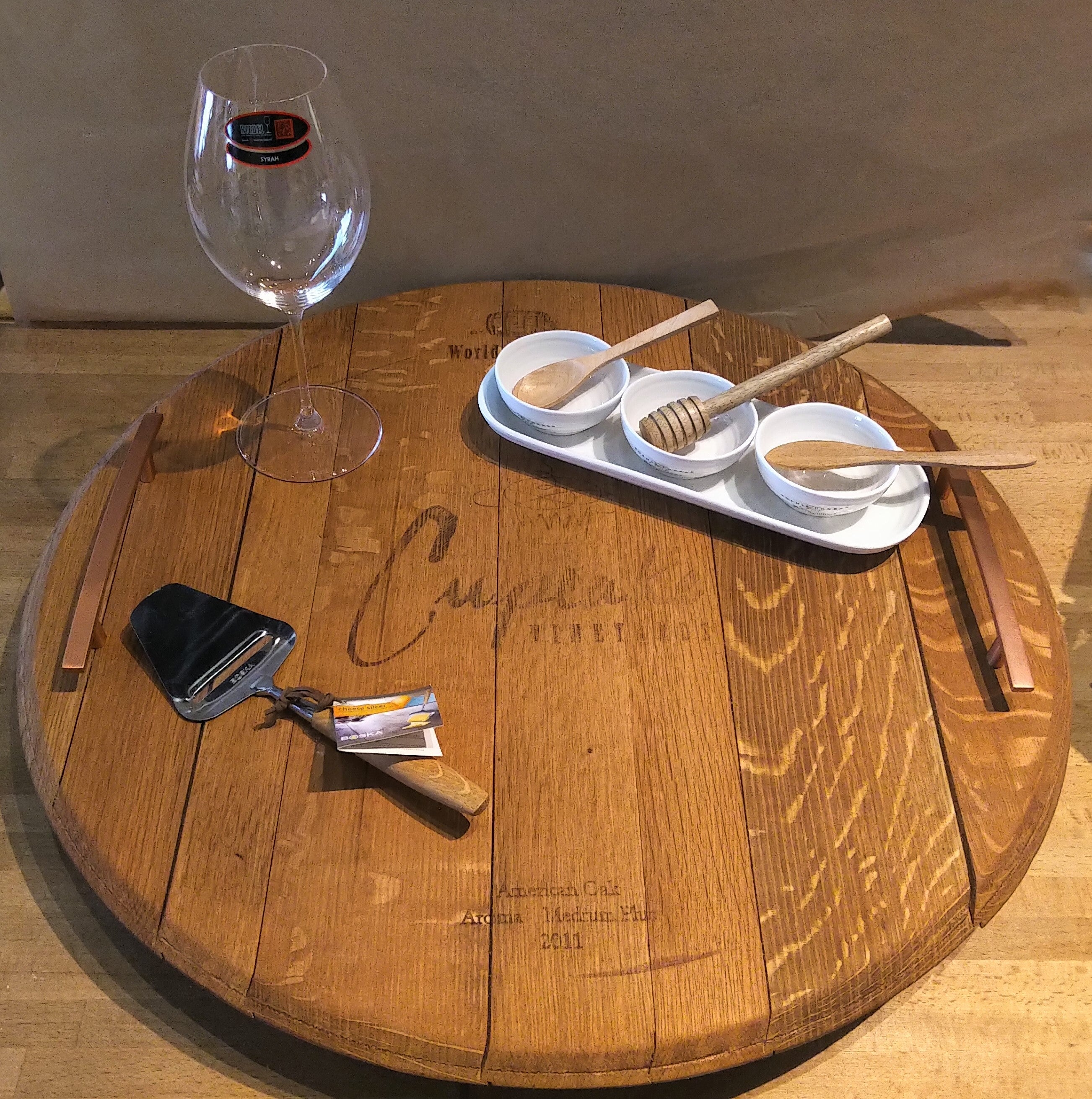 Barrel Head Lazy Susan