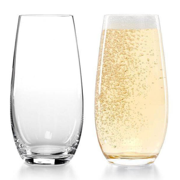 Riedel O Stemless Champagne Flutes 2 Pack