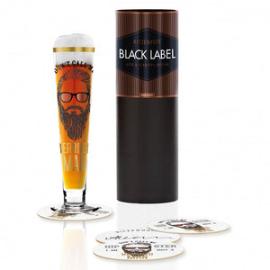 Bierglas BEST SELLER By Alice Wilson Not a Hipster Just a Bearded Man