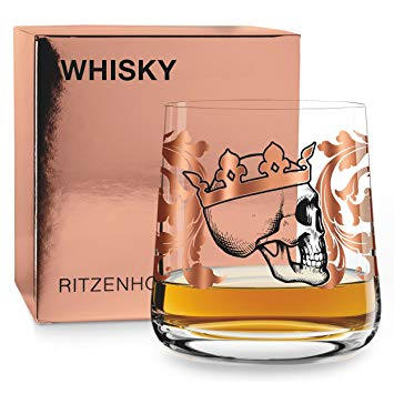 Ritzenhoff Whiskey by Medusa Dollmaker