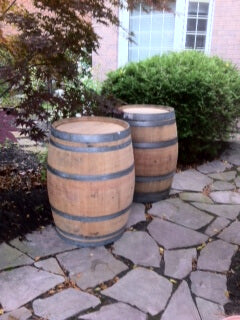 Oak Barrel Used