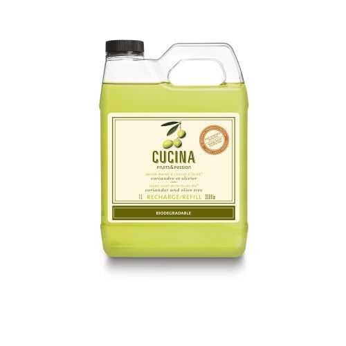Cucina Dish Soap 1L Refill by Fruits & Passion