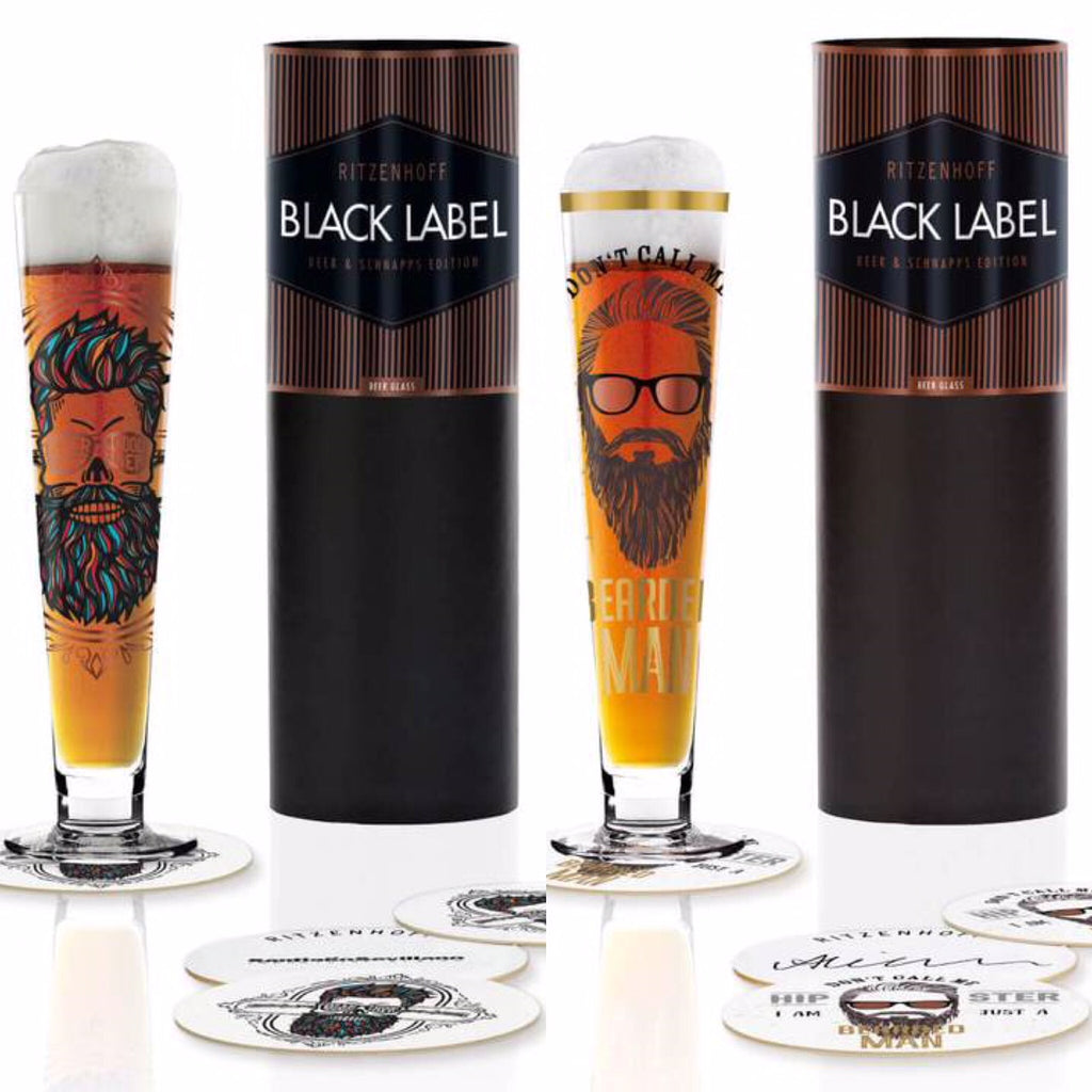 Bierglas BEST SELLER Set of Two Bearded Men They're back!