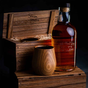 Stinson Oak Whisky Tumblers