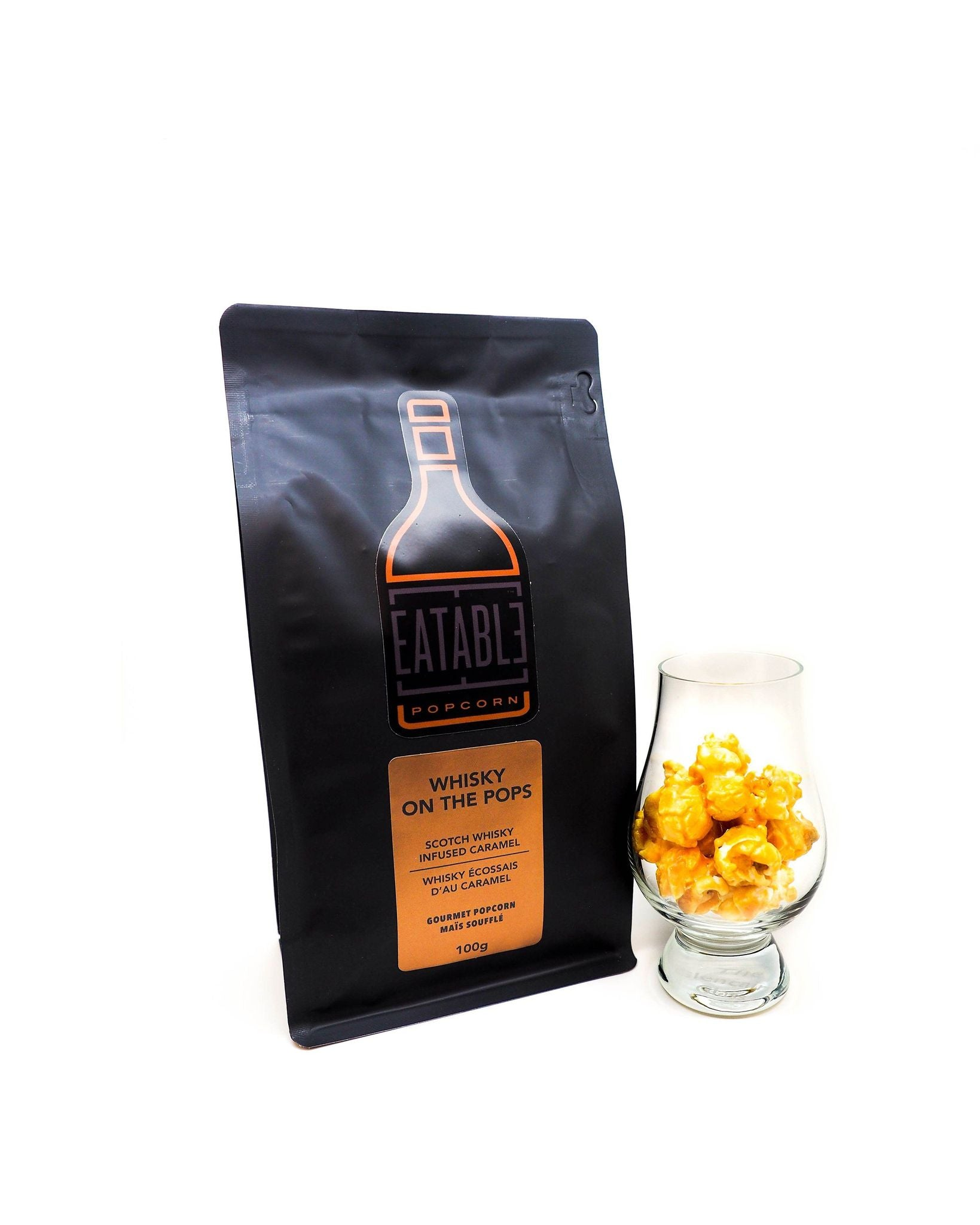 Whisky on the Pops Eatable Popcorn