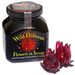 Wild Whole Hibiscus Flowers in Syrup