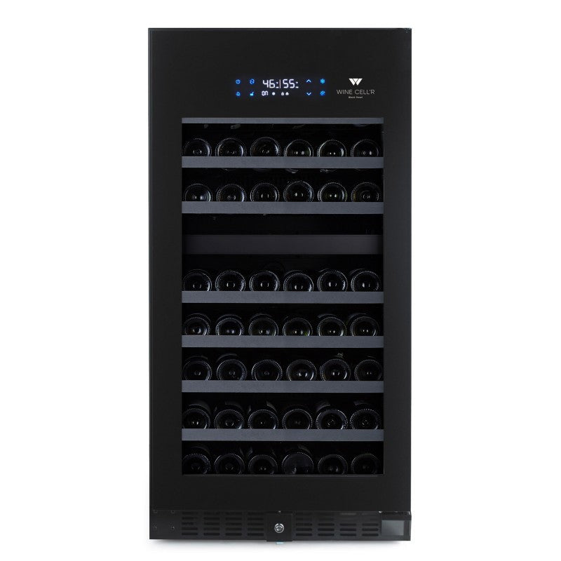 Wine Cellr Wine Fridge Dual Temperature Zone Holds 89 bottles