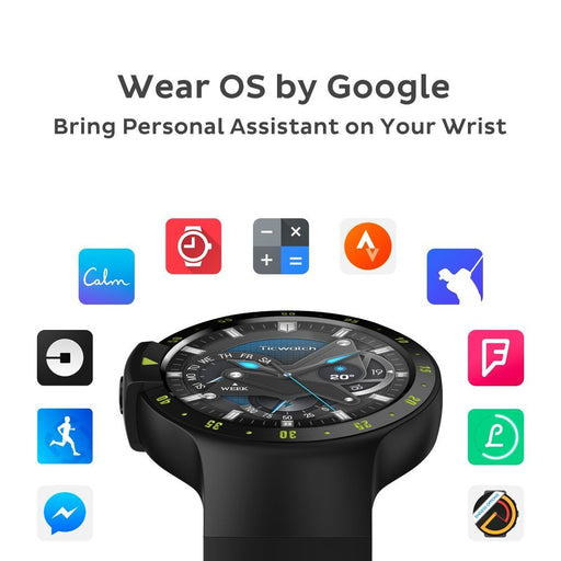[Ready stock!] Ticwatch S Knight, most comfortable smartwatch, WearOS by google