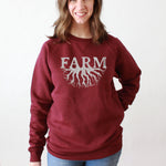 Load image into Gallery viewer, Farm Roots Vintage Crew Sweatshirt