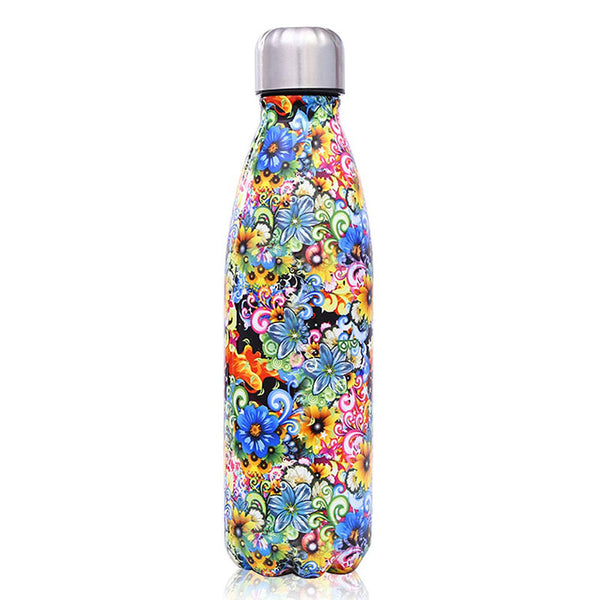 Graffiti Flowers - Life Bottle