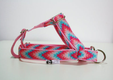 Pink Aztec Harness