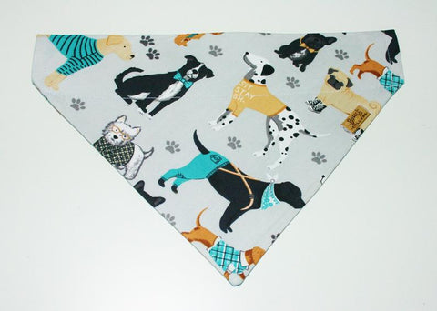 Dressed up Dog Slip on Bandana