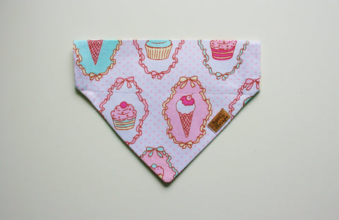 Cupcake Ice Cream Slip on Bandana