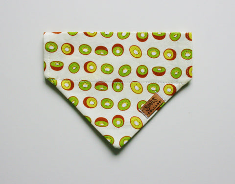 Kiwi Fruit Slip on Bandana