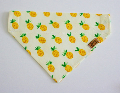 Pineapple Slip on Bandana
