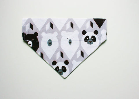 Polar Bear Panda Slip on Bandana