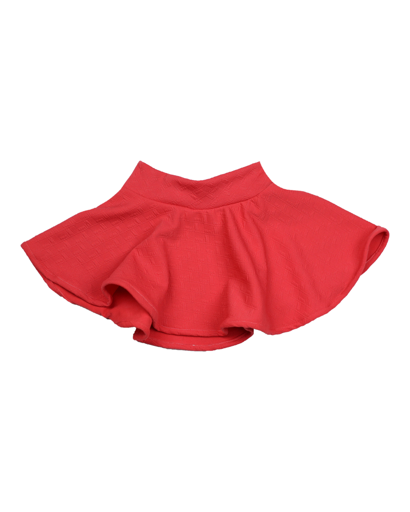 Swing Skirt - Coral (Ready to Ship)